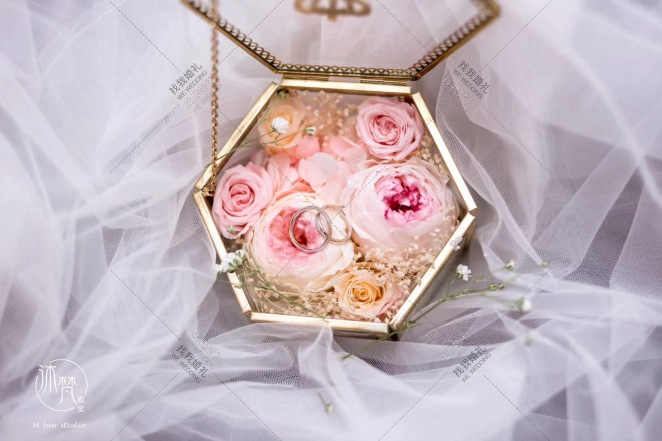 HAPPY WEDDING-白室内简洁婚礼照片