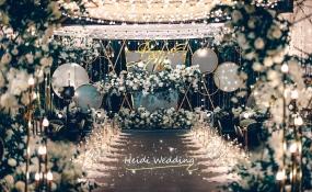 喜悦大酒店(环城路)-白绿花园风婚礼图片