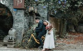 偶尔OURS·私人庭院-岁月静好 【情绪 复古胶片调】婚礼图片