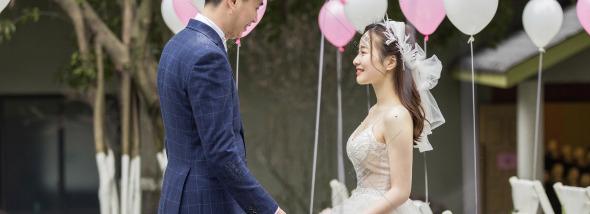 应龙湾澜岸酒店-小清新婚礼图片