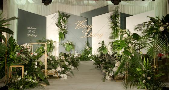 墨绿色的夏天-婚礼策划图片
