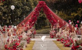 庆隆高尔夫-玫瑰花园婚礼图片