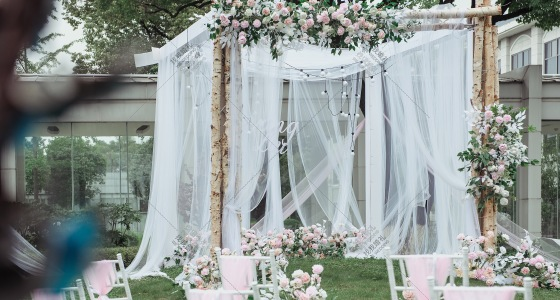 夏日微风。-婚礼策划图片