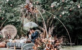 成都安仁福朋喜来登酒店-暖暖的秋婚礼图片