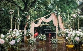 88号鹅岭公园酒店-小花园户外婚礼婚礼图片