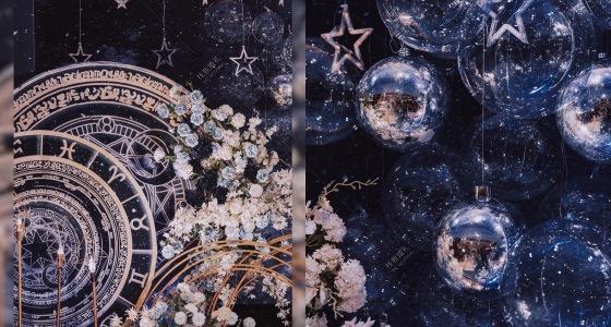 底层高星空婚礼 摘星-婚礼策划图片