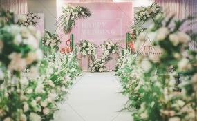 拉斐皇廷酒店-ins风火烈鸟主题婚礼婚礼图片