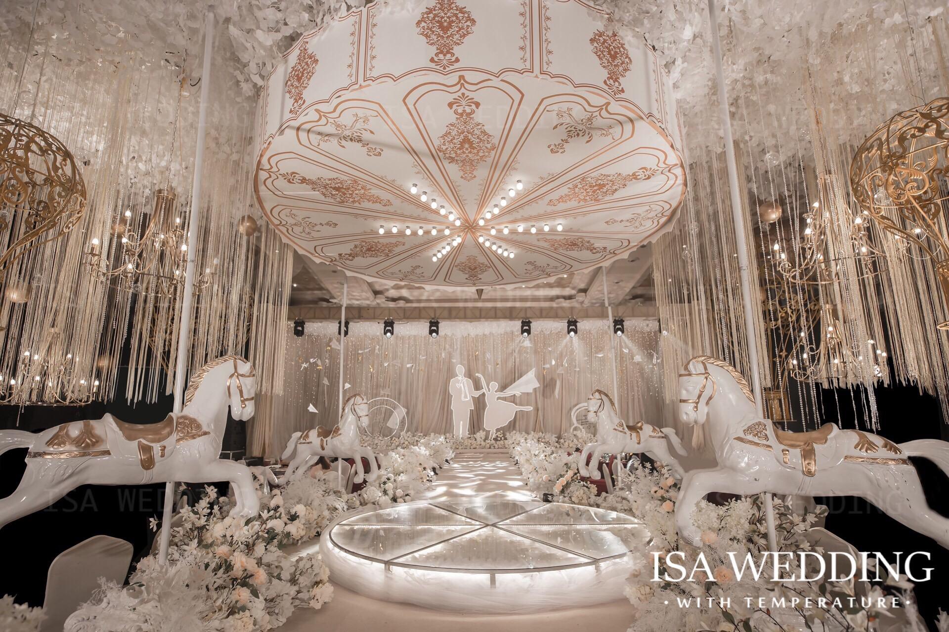 游樂園婚禮圖片