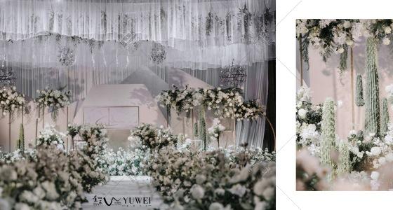 白绿-婚礼策划图片