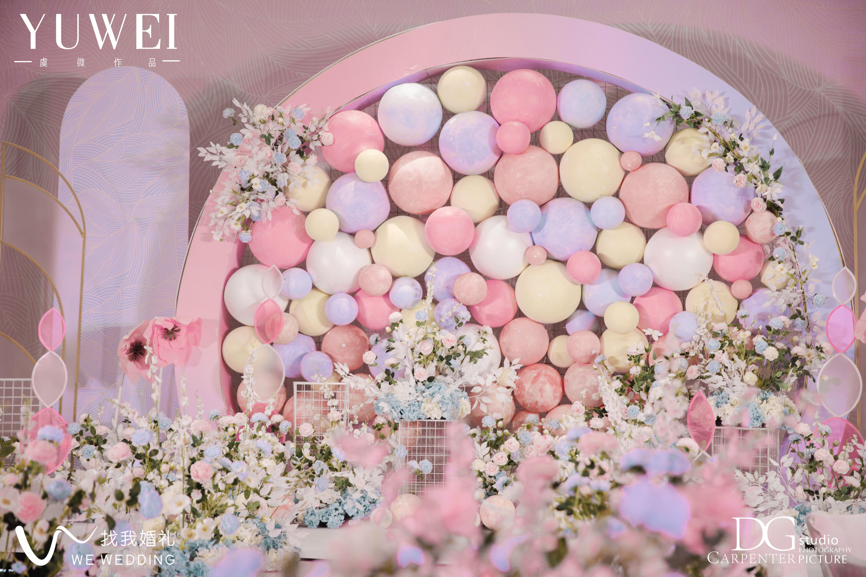 幻彩婚礼图片
