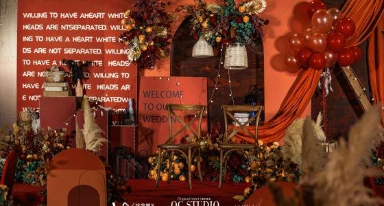 橙的红(陈的洪)-婚礼策划图片