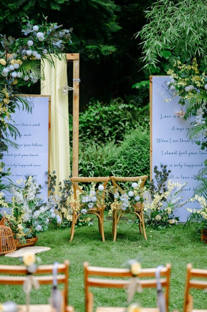 旅行的意义-白户外西式婚礼照片