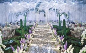 世外桃源酒店-法式庄园风_无尽的爱婚礼图片