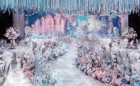 南昌江景假日酒店-大鱼和小鱼的故事婚礼图片