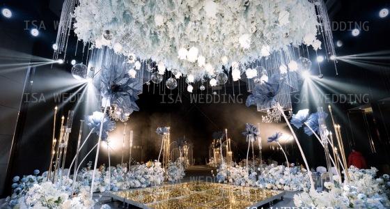 蓝色的花-婚礼策划图片