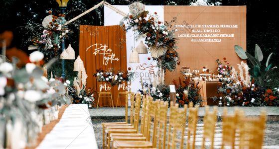 户外草坪晚宴|如 期-婚礼策划图片