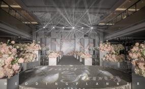 成都凯宾斯基饭店-简约灰粉轻奢风婚礼图片