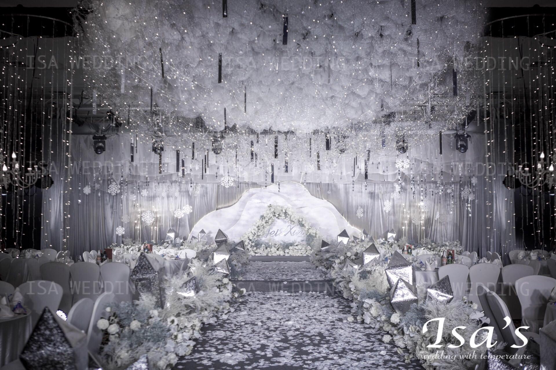 深空灰婚礼图片
