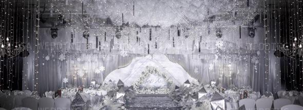 成都大鼎戴斯大酒店-深空灰婚礼图片