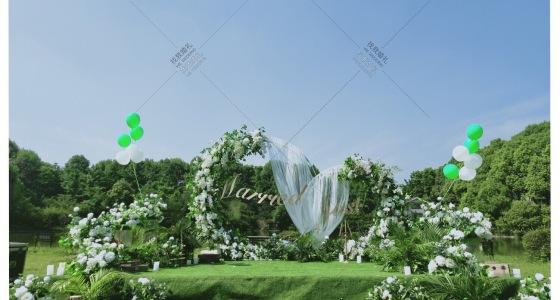 白色、自然植物-婚礼策划图片