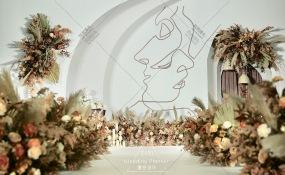 锦禧大酒楼(南滨路店)-极简风沉浸式婚礼婚礼图片