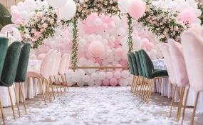 DF艺术餐厅-少女心婚礼图片