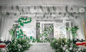 金牛宾馆(金泉4号院东)-ins风白绿系婚礼图片