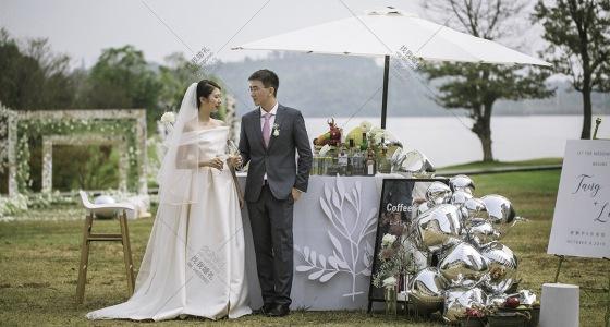 Dior风格户外婚礼-婚礼策划图片