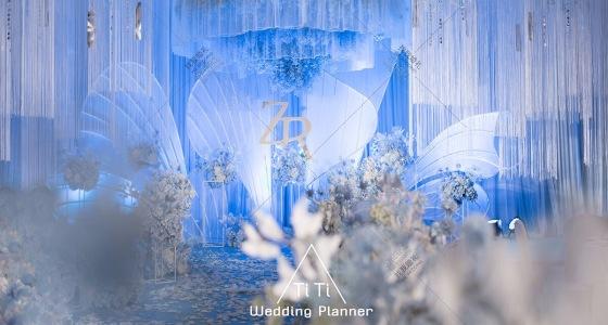 冰蓝梦境-婚礼策划图片
