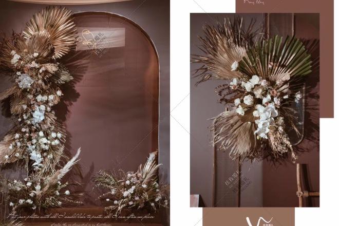 莫兰蒂色系婚礼-婚礼策划图片