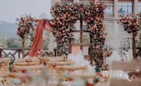 金领汇-铲屎官的爱情小窝婚礼图片