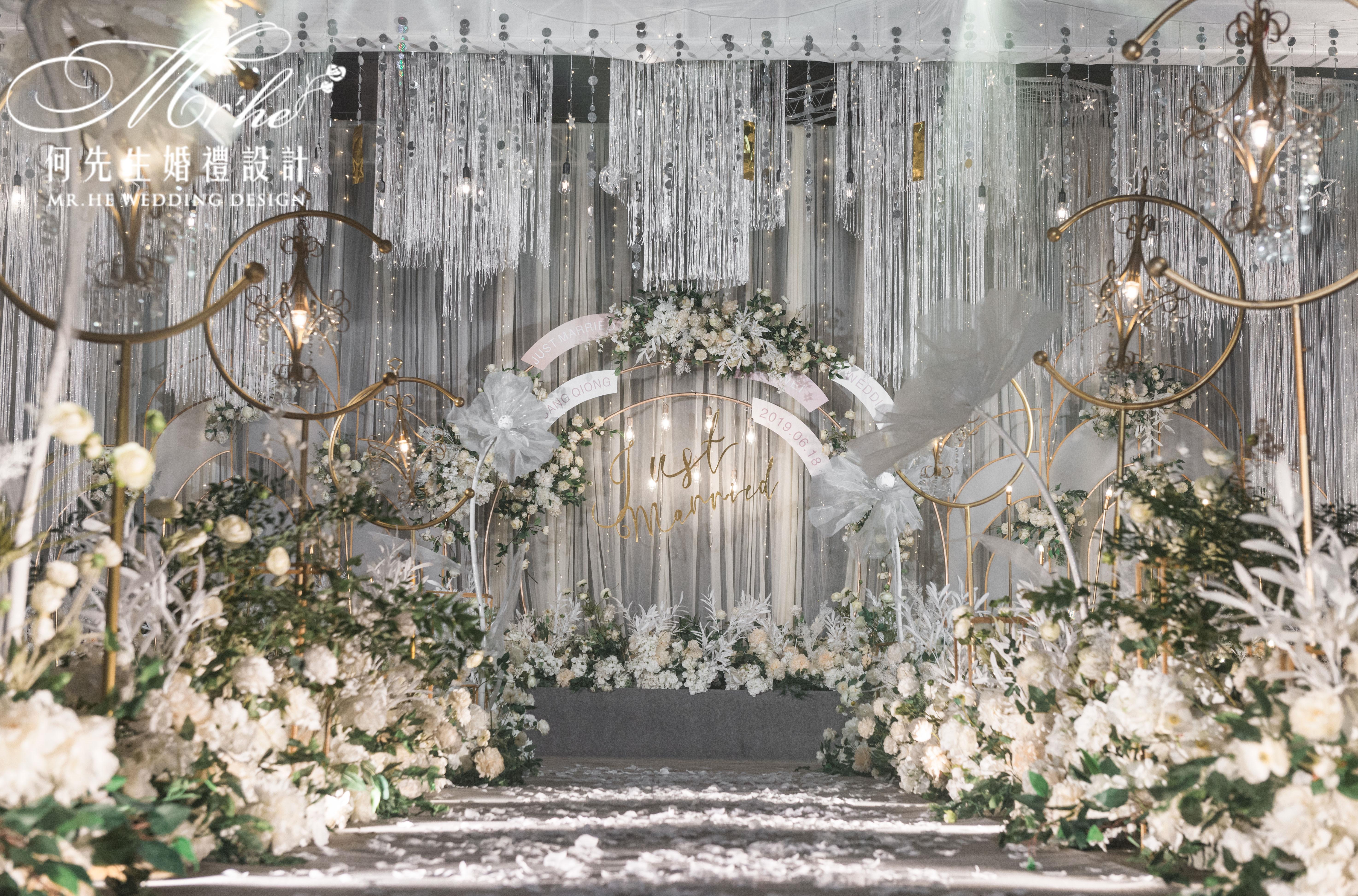 《浪漫进行曲》婚礼图片