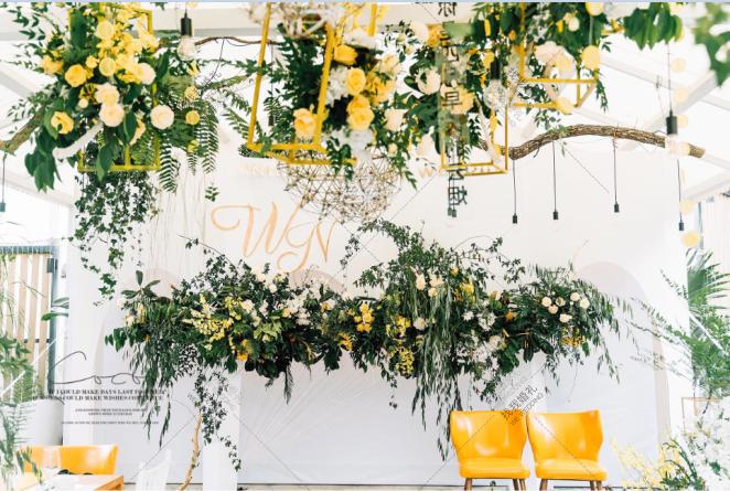 春生订婚宴-黄草坪小清新婚礼照片
