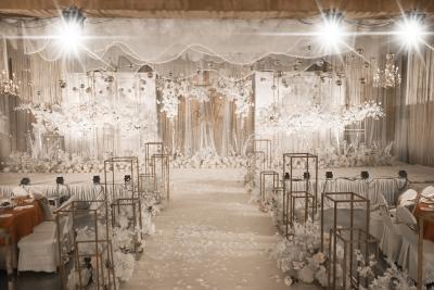 香槟金黄色婚礼,白色婚礼,室内婚礼,韩式婚礼,大气婚礼,唯美婚礼
