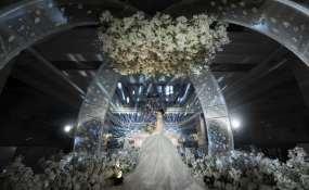四川省成都市锦江区红杏酒家(锦华店)-淡淡的浪漫婚礼图片