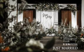 简阳城市名人酒店·宴会厅-清新婚礼婚礼图片