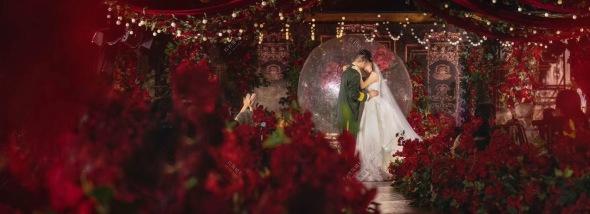 莲花坊停车场芳草西二街36号莲花坊-红色城堡婚礼图片