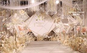 亚南酒店-  轻语   香槟色婚礼图片
