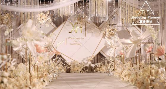 | 轻语 | 香槟色-婚礼策划图片