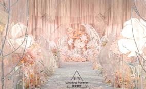 九州禧宴(金山店)-梦幻粉色婚礼婚礼图片