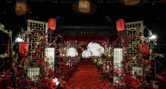 心上诗-婚礼策划图片