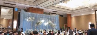 Dior Garden · 迪奥花园-黑室内复古婚礼照片