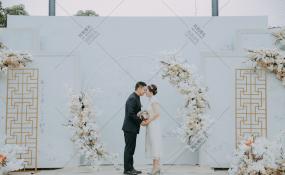 四川省成都市双流区骑龙小区骑龙家园1期-户外草坪婚礼婚礼图片