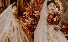 成都总府皇冠假日酒店-红金大气婚礼婚礼图片