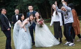 祥和山庄-你们动 我来抓 哈哈哈婚礼图片