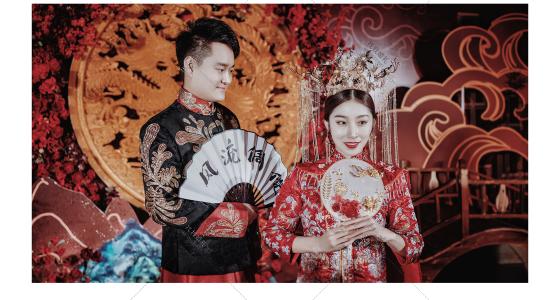 囍绣龙凤-婚礼策划图片