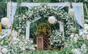 海琴酒店-户外婚礼图片