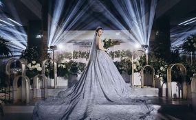 家园国际酒店-灰色婚纱婚礼图片