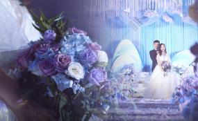 俏巴渝大饭店-蓝色婚礼图片