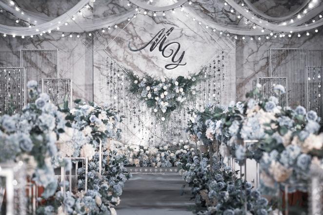 安然-灰室内西式婚礼照片